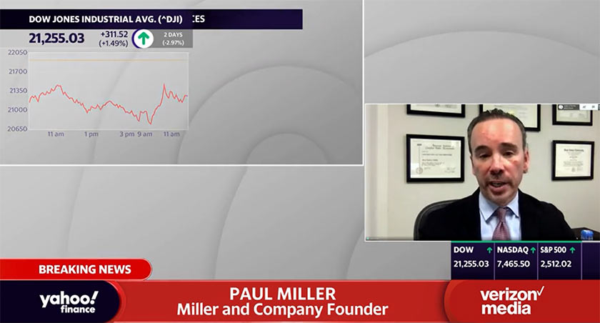 yahoo finance Paul Miller