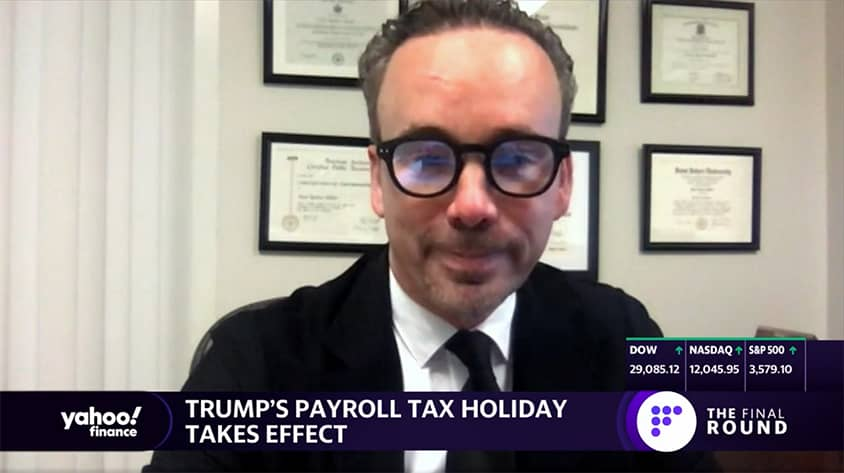 What Trump's tax holiday means for employees and employers - Yahoo Finance